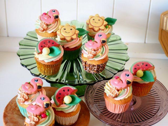 Cupcakes en kleine sweets